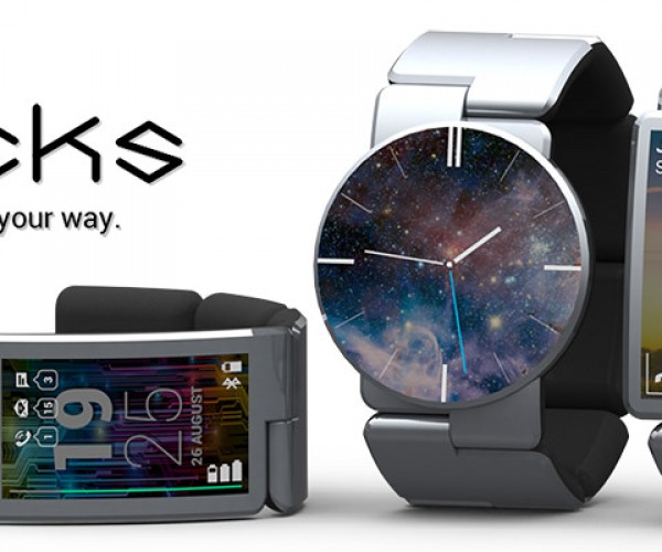 Blocks Modular Smartwatch Has Modular Modules