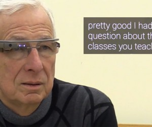 Google Glass & Android App Turn Speech to Text: Life Subtitled