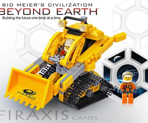 Civilization Beyond Earth Worker LEGO Set is Ready to Colonize Your Toy Collection
