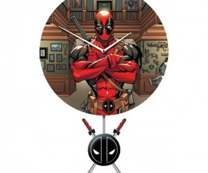 Deadpool Clock Keeps You on Time for Pancake Breakfasts