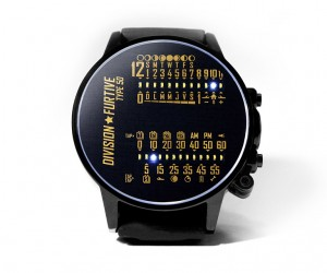 Division Furtive Type 50 LED Watch: Time is Light