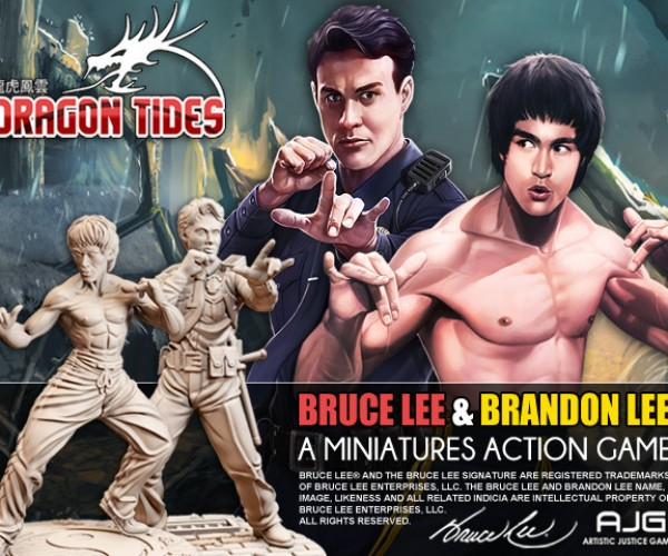 Dragon Tides: Because The World Needed A Bruce Lee Board Game