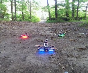 Drone FPV Racing: Mini Speeder Bikes