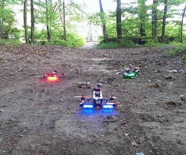 Drone FPV Racing: Mini Speeder Bikes
