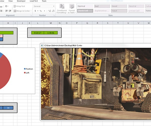 Windows Hack Lets You Play Video and Audio in Microsoft Excel: Slacksheet