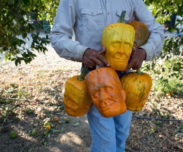 Oh My Gourd! Frankenstein Pumpkins