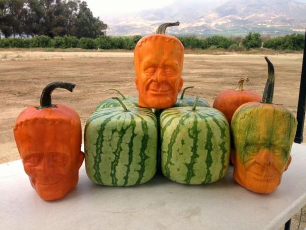 frankenstein pumpkins2