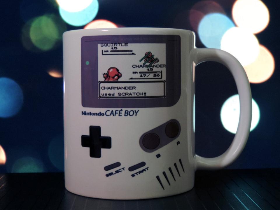 Gameboy Pokemon Mug Cup Of Charmander Technabob