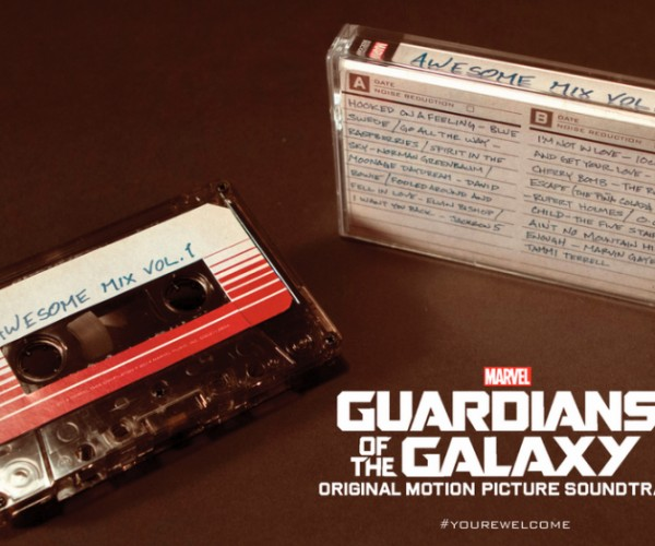 Guardians of the Galaxy Awesome Mix Vol. 1 Will Be Released on Cassette Tape: Side A, Side B, A Bit of Both.