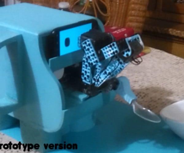 HelloSpoon Feeding Robot: Nannynator