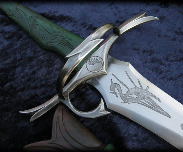 A Real Heron Marked Sword from Robert Jordan's The Wheel of Time