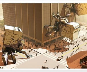 Human Resources RTS Has Giant Robot and Monster Battles