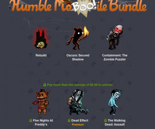 Humble Mo-BOO!-ile Bundle for Android in Time for Halloween