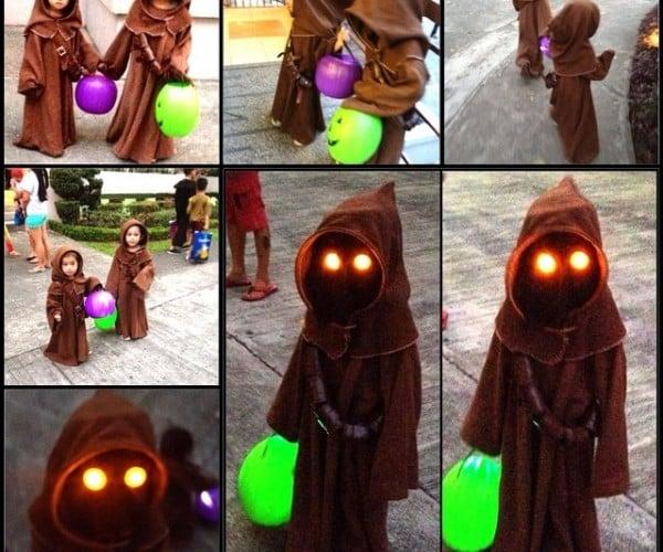 Cute Jawa Kids Halloween Costumes: Jawadorable