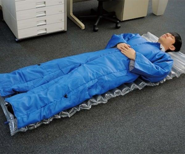 Sleeping Bag Suit: Next-Level Snuggie