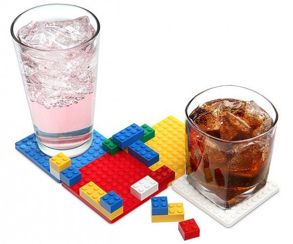 Building Block Coasters: LEGO My Drink
