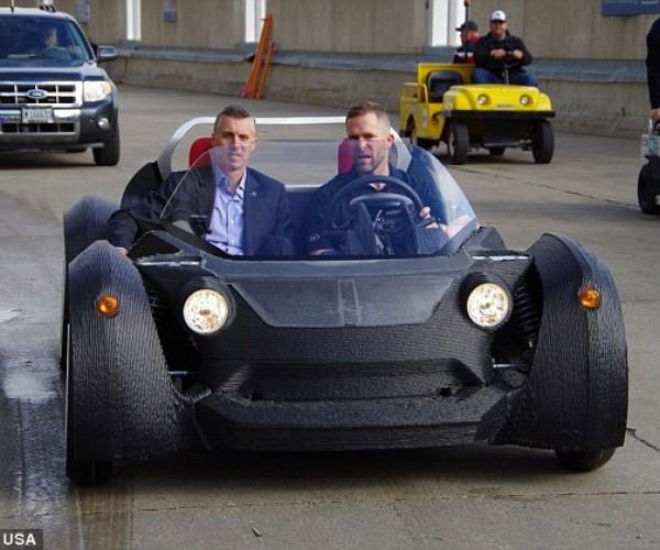 Local Motors 3D-Printed EV Has 120-mile Range