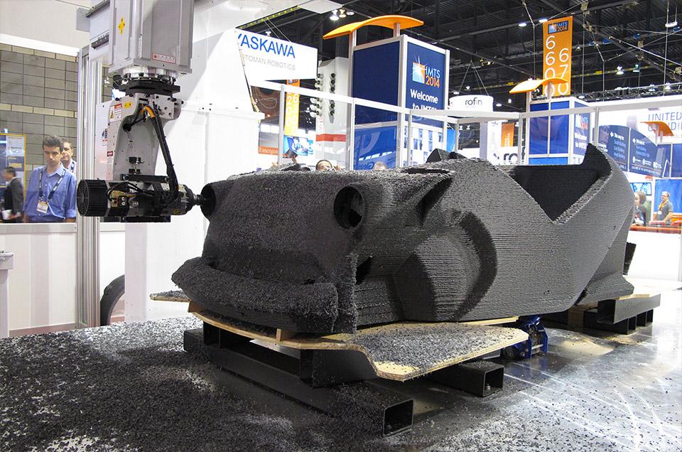 Local motors 3d printed ev has 120 mile range technabob for Local motors 3d printed car