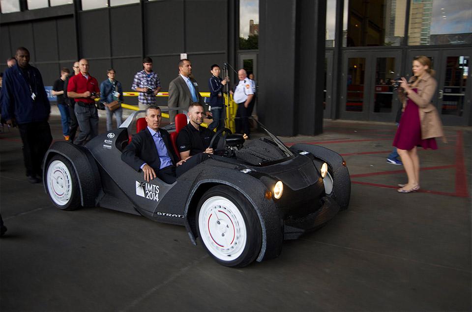 Local motors 3d printed ev has 120 mile range for Local motors 3d printed car