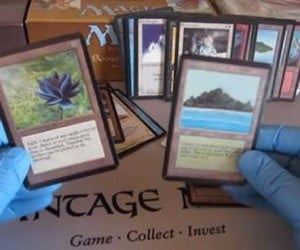 Watch as This Guy Opens a Pack of Magic Cards and Finds Rare Card Worth $30k