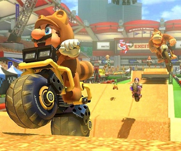 Mario Kart 8 to Get an Excitebike Track