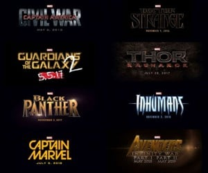 Marvel Outs Movie Plans for 2016 to 2019