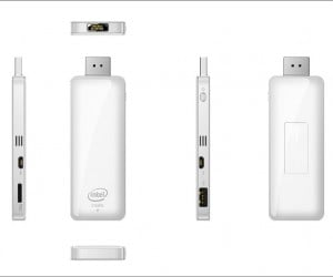 Flash Drive-sized Computer Runs Windows 8.1: PC on a Stick