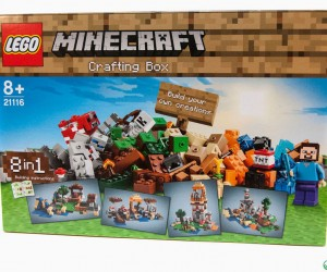 LEGO Minecraft Crafting Box: Brick-a-Brick