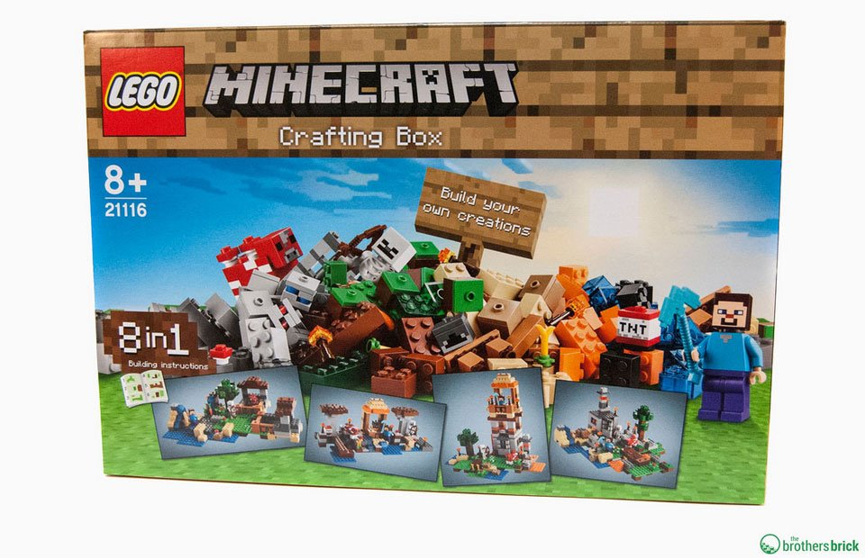 Lego Minecraft Crafting Box Brick A Brick Technabob