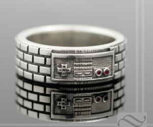 NES Controller Ring: 8-Bit Band