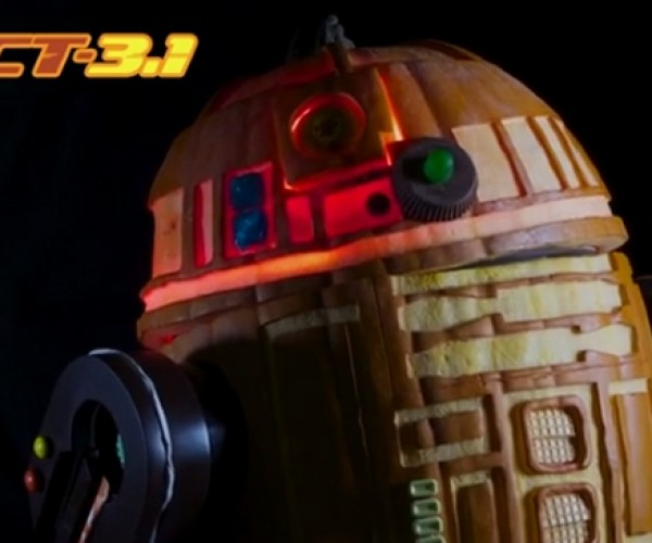 R2-D2 Remote Controlled Pumpkin: The Pumpkin You're Looking for