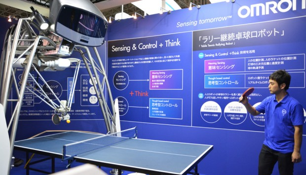 omron-ping-pong-playing-robot