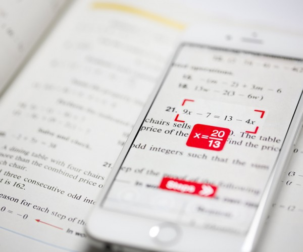 PhotoMath App Solves Math Equations at a Glance: Tutor or Cheater?
