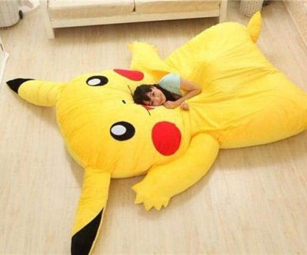 Pikachu Bed Puts Geeks to Sleep