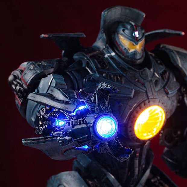 Pacific Rim Gipsy Danger Action Figure Doesn't Need Two ... Pacific Rim Gipsy Danger Head