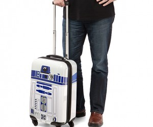R2-D2 Carry-on Is the Suitcase You're Looking For