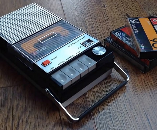 Cassette Player Turned Into Spotify Media Server with Raspberry Pi: SpotiPi