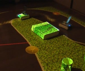 RomoCart Lets You Make Race Tracks for Robots: DIY Anki Drive