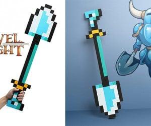 Shovel Knight Life-size ShovelBlade Replica: for Shovelry!