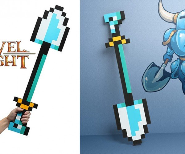 Shovel Knight Life-size ShovelBlade Replica: for Shovelry!