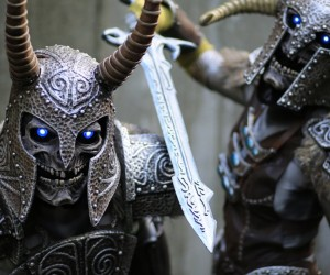 Scary and Amazing Draugr Deathlord Cosplay