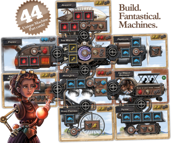Steampunk Rally: Build Insane And Violent Race Tanks