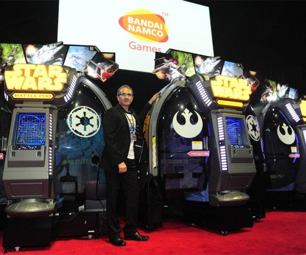 Bandai Namco Unveils Star Wars Battle Pods Arcade Game