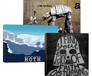 Star Wars Canvases: The Art Side of the Force