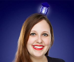 TARDIS Light-up Headband: Travel Space and Time at the Speed of Light