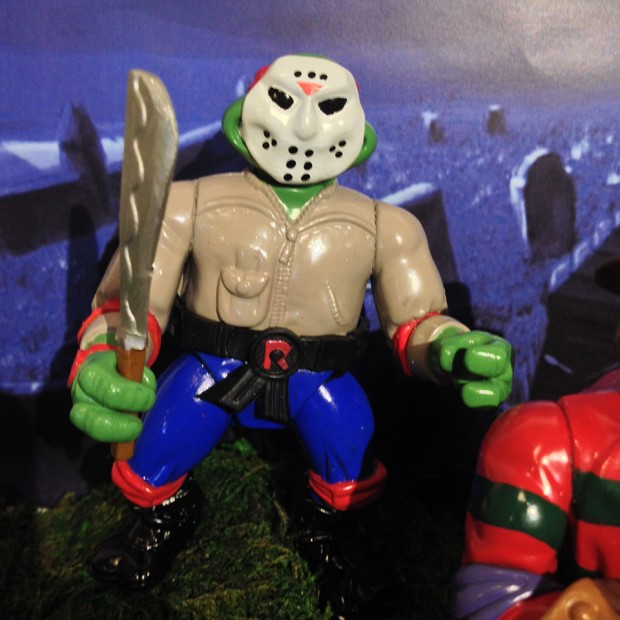 Tmnt Mashed Up With Horror Movie Characters Sewer Slashin