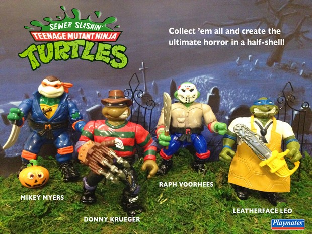 teenage-mutant-ninja-turtles-horror-slash-flicks-kitbash-by-Dan-Polydoris