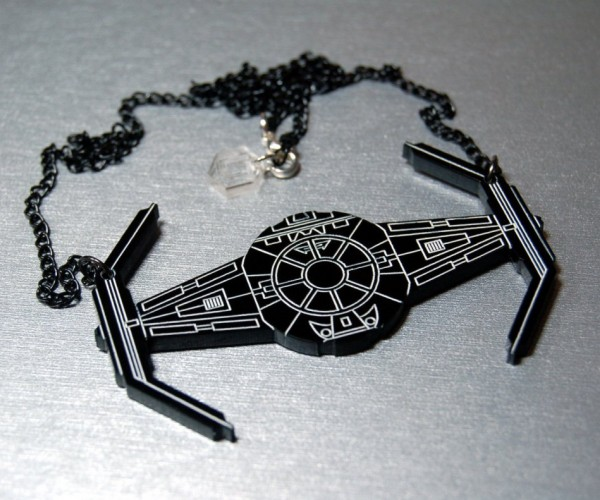 Star Wars TIE Fighter Necklace: NeckTIE