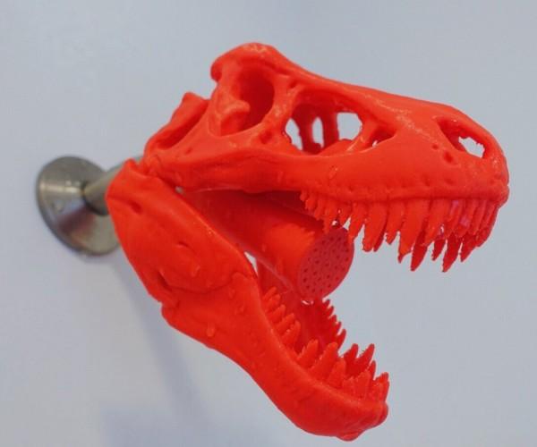 3D-Printed T-Rex Showerhead: Dinoshower