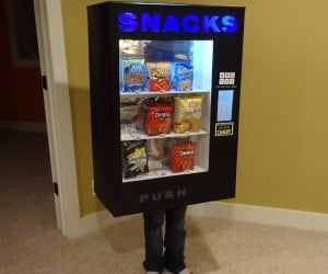 Vending Machine Costume only Accepts Candy